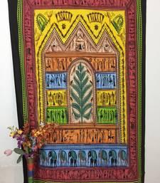 Village Fair Cotton Twin Tapestry Multi