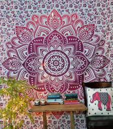 Buy Bohemian Indian Tapestry Bedspread Tapestry Mandala Wall Hanging Home Decor Beach Throw Picnic Sheet Hippie Boho Ombre tapestry online