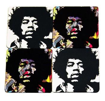 Jimi Hendrix Nonstop Coasters (set of 4)