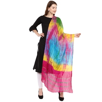 Multicolor Lahariya Dupatta
