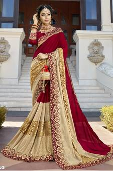 c6621be27158e7 Party Wear Sarees, Buy Designers Party Half Sarees Online Prices