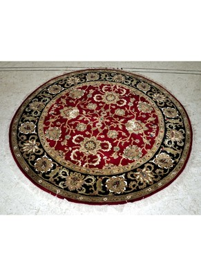 DRI00041 Indian Traditional Hand Woven Wool Carpet