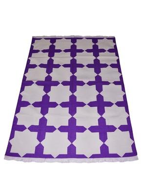 Lal Haveli Jaipuri Handmade Art Home Decor Carpet & Dhurrie 4 X 6 Feet