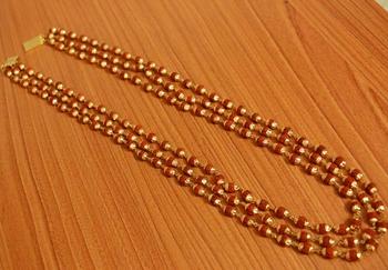 Brown Crystal Necklaces