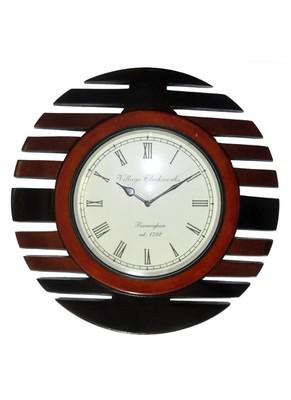 HND00424 Indian Classical Designer Antique Wall clock Home Decor