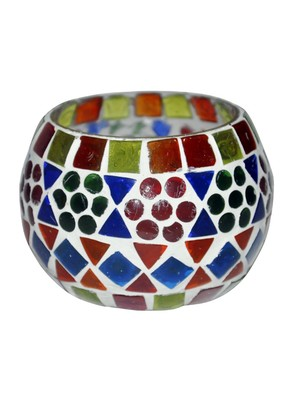 Lalhaveli HND00511 Home Decorative Indian Traditional Glass Hanging lamp