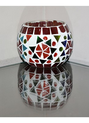 Lalhaveli HND00513 Home Decor Indian Ethnic Glass Hanging lamp