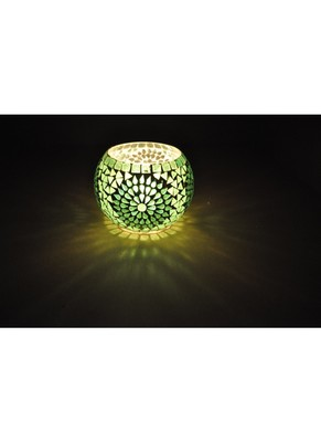 Lal Haveli Home Decorative Elegant Votive Glass candle Holder & Diwali Diya for Gift Item 5 Inch