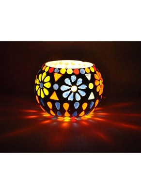 Lalhaveli Home Decorative candle Holders Diwali Gift Item 3 Inches