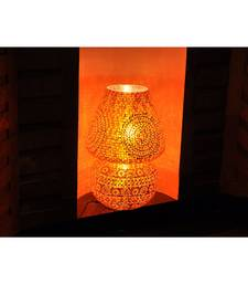 Round Mosaic Glass Big lamps For Living Room Decor 24 x 17 Inch