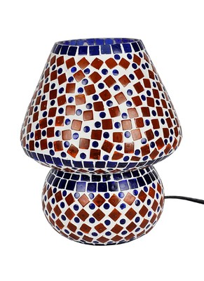 Elegant Mosaic Glass Table lamp 9 X 8 Inches