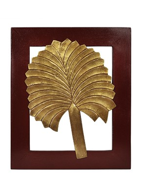 Wall Decoration Frames With Leaves 13 X 11 Inches