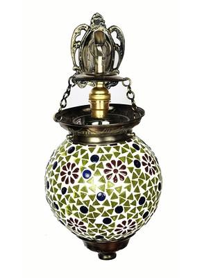 Mosaic Glass Wall Decor lamp & Light 13 X 9 Inches