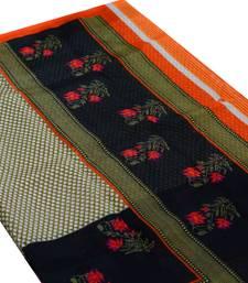 Buy multicolor art silk saree unstitch blouse all-seasons-saree online