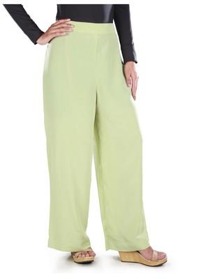 MyBatua Rida Parrot Green Palazzo islamic pants