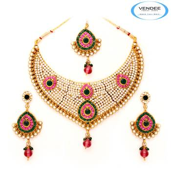 Vendee Fashion Awesome Bridal Necklace J
