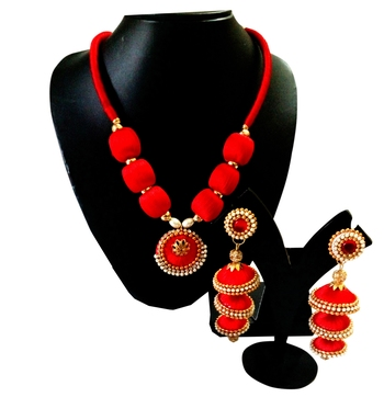 Red Necklace Sets