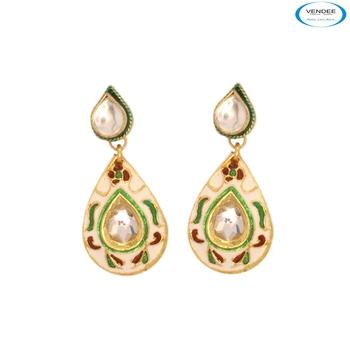 Vendee Fashion Indian Designer Earrings