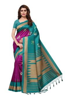eca46e0c7f81d Progress 4cc28d84d76fcb9210fe43f7ac15eb975cd0845b972ae4a79b1d0ad72de0bd8e.  Magenta printed art silk sarees saree with blouse. Shop Now