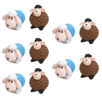 Lamb & Sheep Garden Toy Decor Showpiece Set Of 10