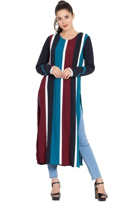Multicolor Printed Nida Islamic Tunics