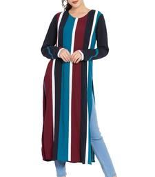 Multicolor Printed Nida Islamic Tunics