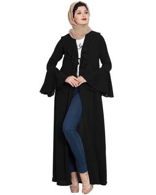 Black plain nida islamic accessories