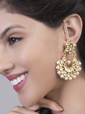 Siya Kundan Earrings