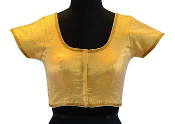 Golden Shimmer readymade blouse
