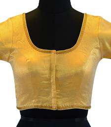Golden Shimmer readymade blouse