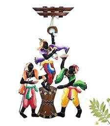 Karigaari India Big Size Makkhan Chor Iron Wall Hanging (83.82 cm x 43.18 cm x 2.54 cm)