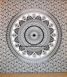 Indian Mandala Tapestry Queen Wall Tapestries Wall Hanging Cotton Bedspread Throw Table Cloth D  cor