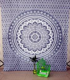 Indian Grey Tapestries Wall Hanging Hippie Mandala Wall Tapestry Bohemian Wall Tapestry Dorm Bedding Beach Blanket Throw