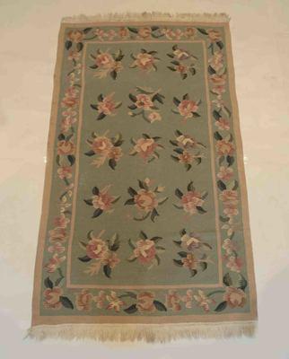 Antique Handmade Wool Cotton Tribal Kilim Rug Carpet Room Rug 3.5 Feet Rug