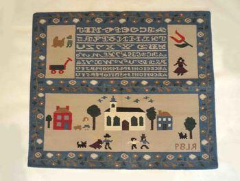 Indian Hand Woven Wool Cotton Kilim Wool Cotton Cartun Designer Kilim Rug