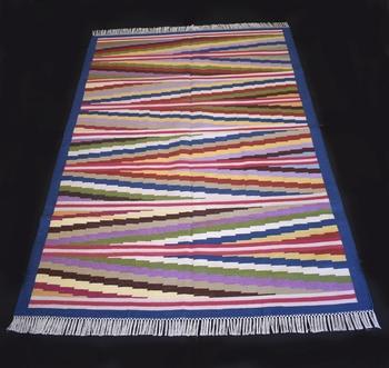 Antique Looking Multi Coloured Size 4x6 Feet Area Kilim Rug Home Decorative Cotton Kilim Rug