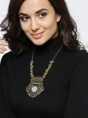 Gold pendants