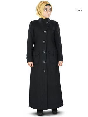 Mybatua rafa long abaya coat