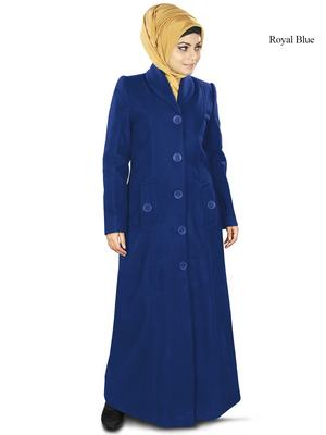 MyBatua Izma Long Abaya Coat
