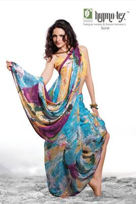 Digital Prited Saree 69
