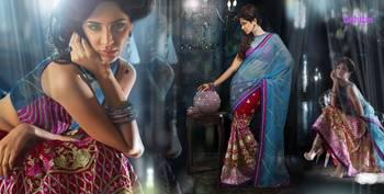 Ghunghroo Designer Lahenga Sari 7711