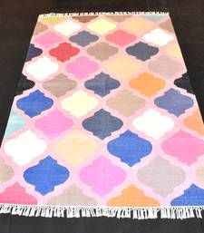 Antique Looking Stonly Stayle Matcka Traditional Color Full Cotton Kilim Area Rug