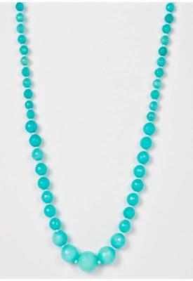 Piebee - Genuine Amazonite Aqua Blue Necklace