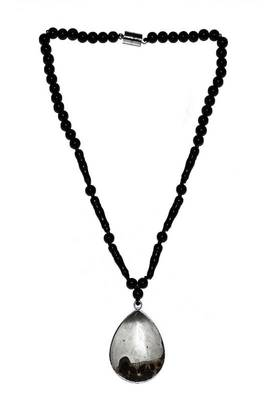 Just Women - Genuine Jasper Pendant Necklace