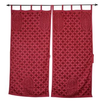 Ethnic Handmade Decorative Cutwork Curtains Window Valance