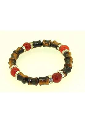 Genuine Tiger Eye Carnelian lucky charm Bracelet