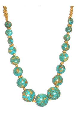 Just Women - Turquoise Graduating Necklace