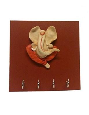 Karigaari India Ashirwad Ganesha Key Holder