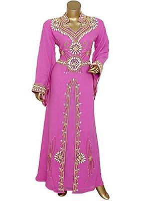 MODERN ISLAMIC ARABIC KAFTAN DRESS FOR WEDDIN GOWN PARTY WEAR DRESS