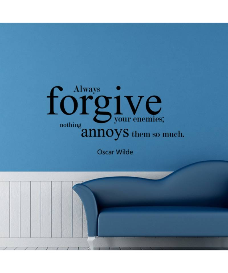 Amazon Com Forgiveness Wall Decal Apologize Forgive Forget Quote Vinyl Stickers Christian Inspirational Vinyl Home Or Office Decor Handmade